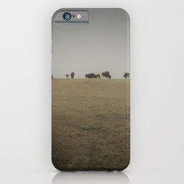 Hill of Buffalo iPhone Case