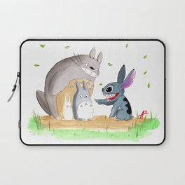 Ohana Means Family Laptop Sleeve