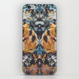 Rorschach Flowers 3 iPhone Skin