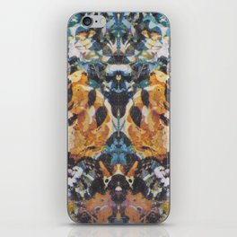 Rorschach Flowers 3 iPhone Skin