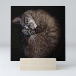 Cozy AF (vertical) Mini Art Print