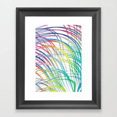 i'm a real wired one Framed Art Print