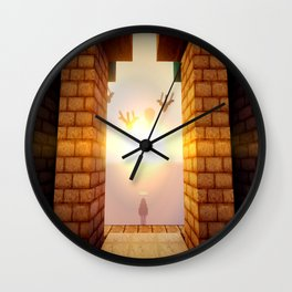 M I N E C R A F T Shaders Wall Clock