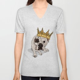 Queen Zoe Unisex V-Neck