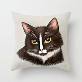 Commander Shephard Throw Pillow