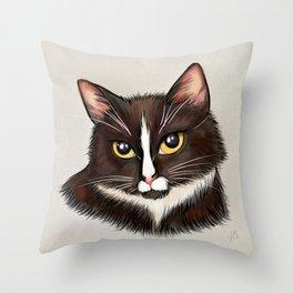 Commander Shephard Throw Pillow