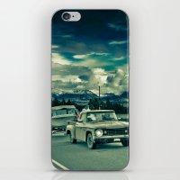 alaska iPhone & iPod Skins featuring Alaska by Paweł Kotas