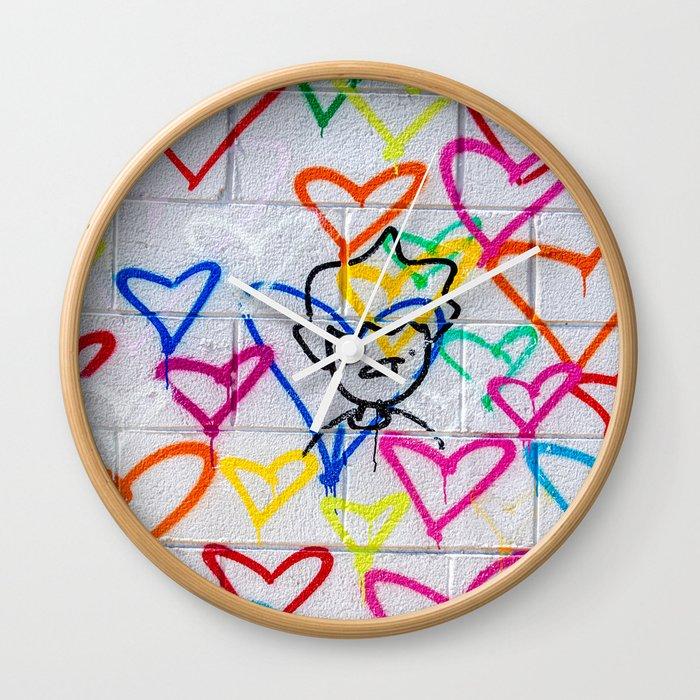 People Love Wall Clock