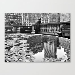 New York City Reflections Canvas Print