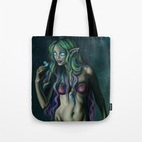 firefly Tote Bags featuring Firefly by Nairas Products