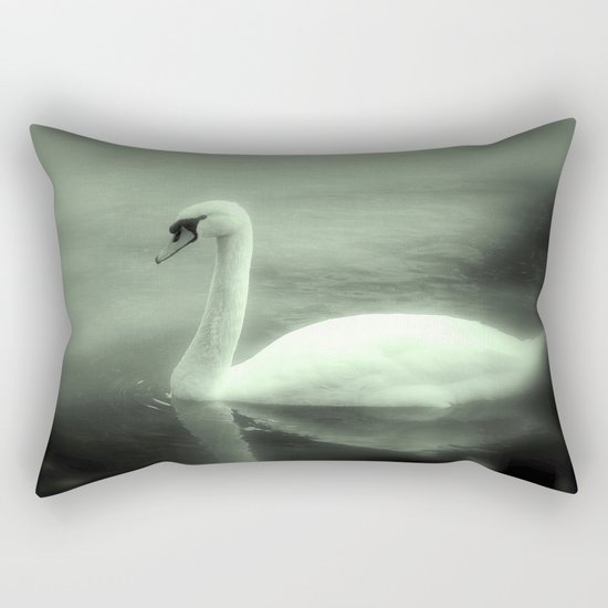 Schwan Rectangular Pillow