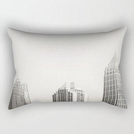 Three Buildings  Rectangular Pillow
