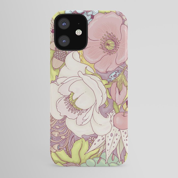 the wild side - summer tones iPhone Case