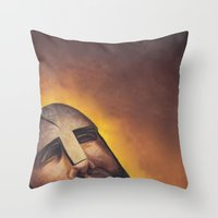 hamlet Throw Pillows featuring Hamlet by Mono Ahn