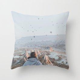 Cappadocia Throw Pillow
