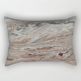Arabescato-Orobico Fine Marble Rectangular Pillow