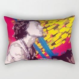 The Piano Man Rectangular Pillow