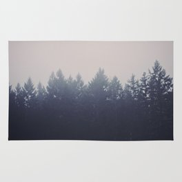 Forest in the Haze Rug