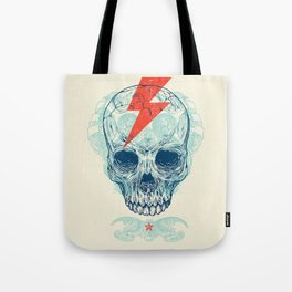 Skull Bolt Tote Bag