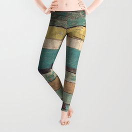 Wooden Vintage Leggings