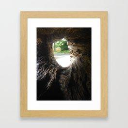 In the eye of the beholder Framed Art Print