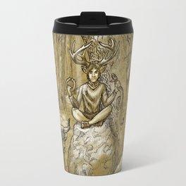 Cernunnos (monochrome) Travel Mug