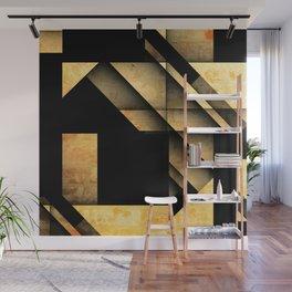 Geometric Shapes Wall Mural