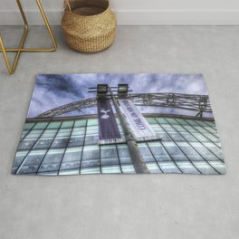 Come on You Spurs Wembley Stadium Rug