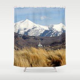Draper LDS Utah Temple Shower Curtain