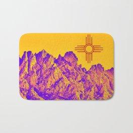 New Mexico O M ZIA Bath Mat