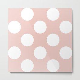Rose Quatrz spots 2 Metal Print