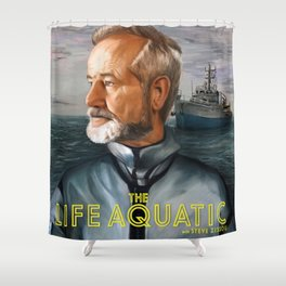 The Life Aquatic with Steve Zissou Shower Curtain
