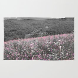 White Mountains photography art Rug