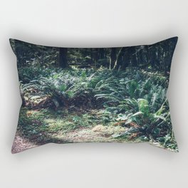 Undergrowth - Olympic National Park II Rectangular Pillow