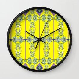 Yellow sprinkles Wall Clock