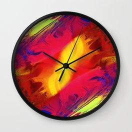 Daily Design 67 - Photovoltaic Brushstrokes Wall Clock