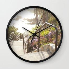 Laguna Beach, California  //  Travel the World Wall Clock