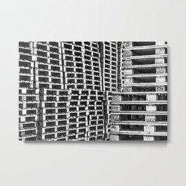 Piled Up Metal Print