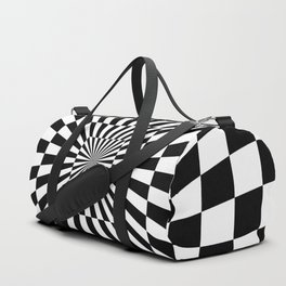 Optical Illusion Hallway Duffle Bag