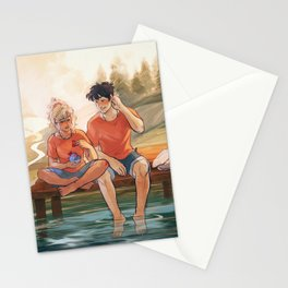 Valentines with Percabeth Stationery Cards