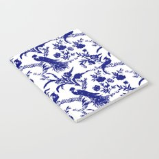 Royal french navy peacock Notebook