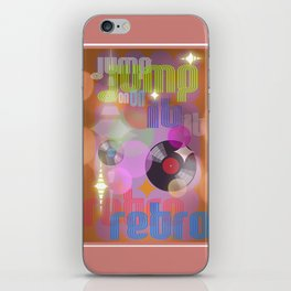 Jump On Retro iPhone Skin