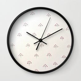 Winterberries Wall Clock
