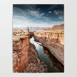 on top of the canyonland Poster