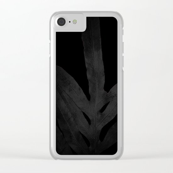At Midnight Ferns Get no Love. Nightmare. Clear iPhone Case