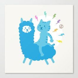 Alpaca Rider Canvas Print