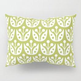 Mid Century Flower Pattern 5 Pillow Sham