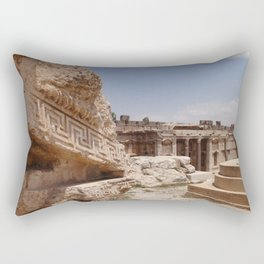 Ancient Remains Rectangular Pillow