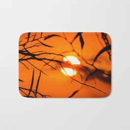 Beautiful Sunset Bath Mat
