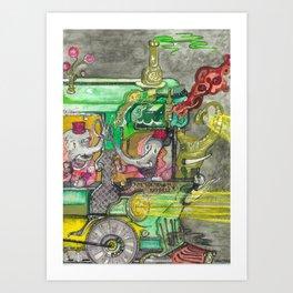 The Perfect PB & J Art Print